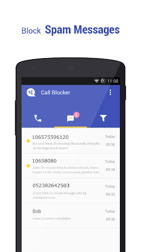 Call Blocker gratuito - Blacklist