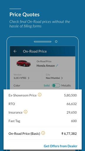 CarWale- Cerca auto nuove e usate