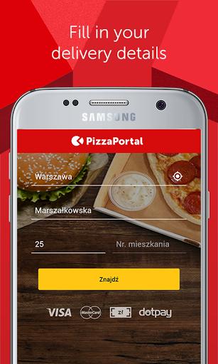 PizzaPortal - cibo da asporto