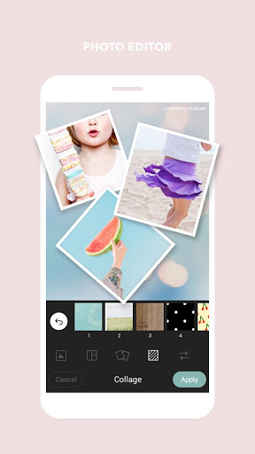 Cymera: Collage e PhotoEditor