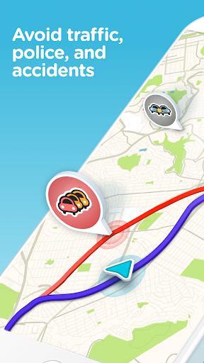 Waze: GPS, mappe e traffico