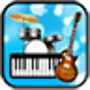 icon Band Game(Band Game: Piano, Guitar, Drum)