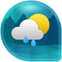 icon Weather & Clock Widget for Android (Air Forecast) (Weather Clock Widget per Android (previsioni aeree))
