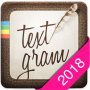 icon Textgram - write on photos (Textgram: scrivi sulle foto)