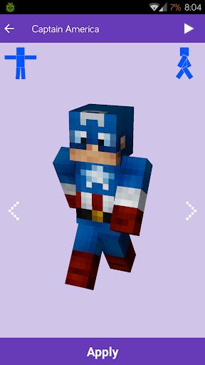 Skin per Minecraft: MineSkins