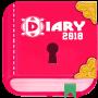 icon Secret Diary with Lock(Diario segreto con serratura)