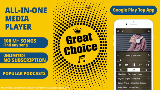 Musica gratis MP3 Music Player (Scarica ora gratuitamente!